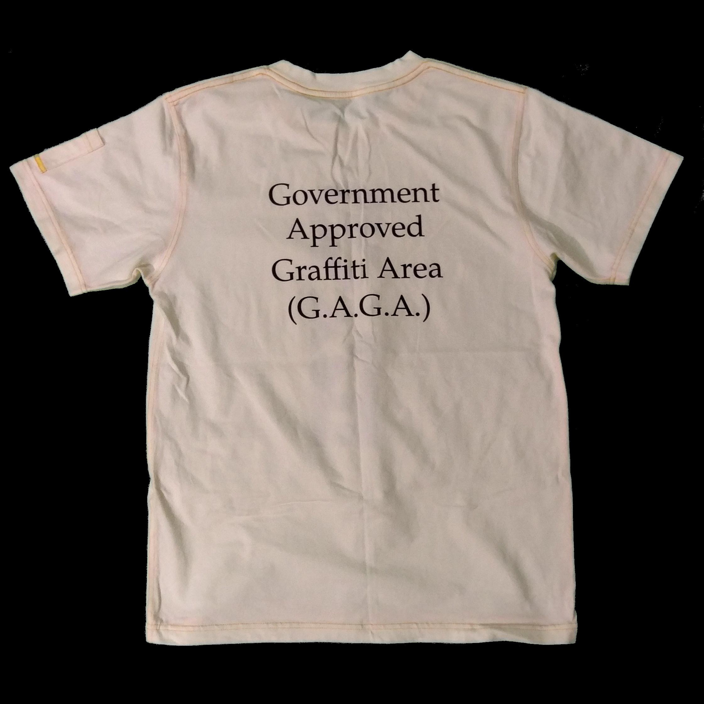 [合法塗鴉區G.A.G.A]-限量版 Government Approved Graffiti Area (G.A.G.A.) Limited Edition