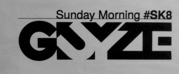 Sunday Morning #SK8 GUYZE (前面)