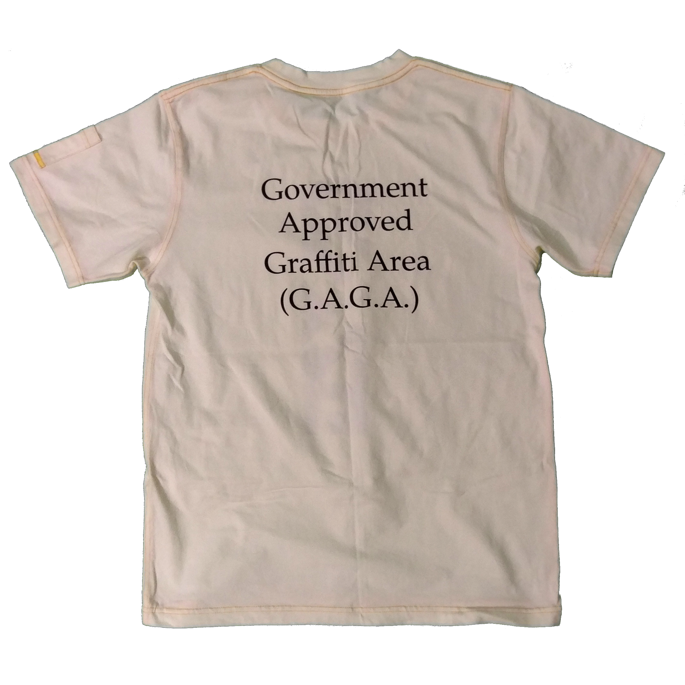 Government Approved Graffiti Area (G.A.G.A.) – Limited Edition